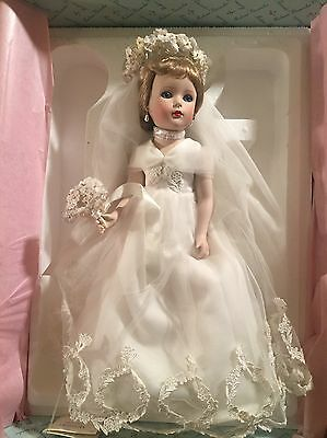 Danbury Mint Madame Alexander Bride Doll MINT IN BOX