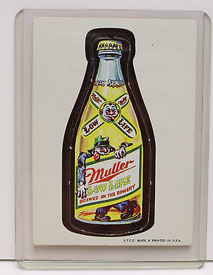 RARE 1967 Topps Wacky Packages #23 DIE-CUT MULLER LOW LIFE
