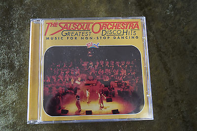 The Salsoul Orchestra Greatest Disco HIts CD music for non-stop dancing