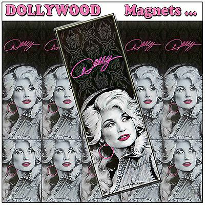 Dollywood Official Licensed Vintage B&W Photo Magnet New for 2017 - Dolly Parton