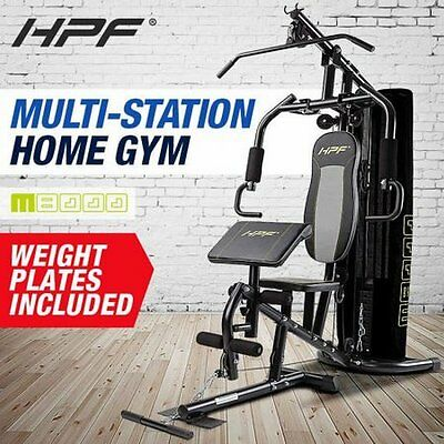 NEW Heavy-duty HPF Fitness Workout Cable Bench Press - Multi-Station Home Gym