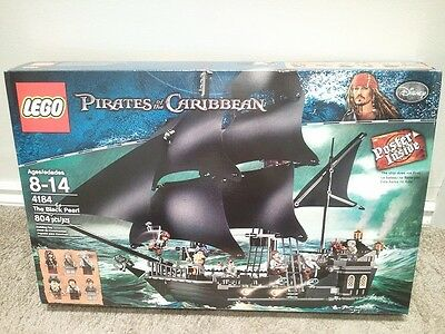 LEGO Pirates of the Caribbean 4184 The Black Pearl (New-sealed)