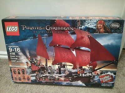 LEGO Pirates of the Caribbean 4195 Queen Anne's Revenge (New-sealed)