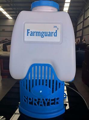 New 25L 8Ah Farmguard Rechargeable Battery Electric Knapsack Weed Killer Sprayer