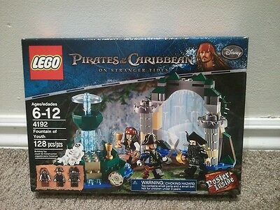LEGO Pirates of the Caribbean 4192 Fountain of Youth (New-sealed)