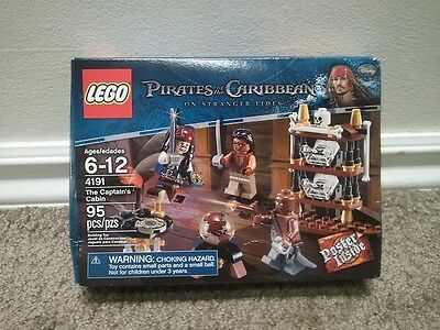 LEGO Pirates of the Caribbean 4191 The Captain's Cabin (New-sealed)