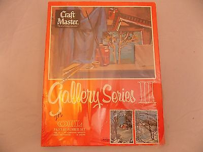 Craft Master Paint by Number Set Gallery Series II Winter Sunshine