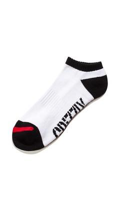 Grizzly Low Stamp Sock in White