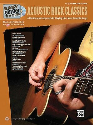 Easy Guitar Play-Along - Acoustic Guitar Classics - Guitar Music Book with CD