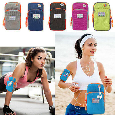 Jogging Running GYM Sport Armband Holder Arm Strap Pouch Case for iphone7 6s