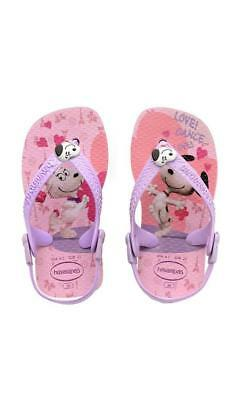 Havaianas Baby Print Snoopy Lilac/Pink