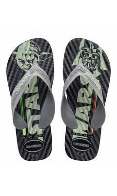 Havaianas Kids Max Star Wars Black