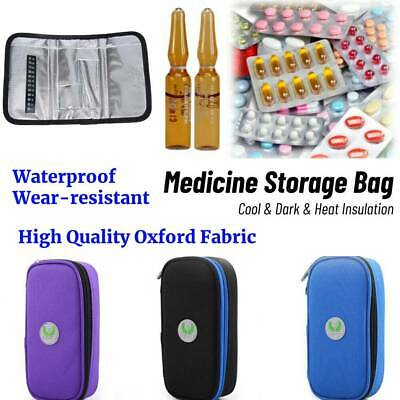 Portable Insulin Cooler Bag Diabetic Organizer Medical Travel Ice Pack Hot im