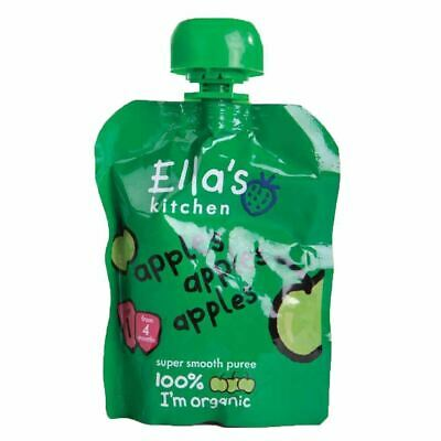 Ella's Kitchen | First Taste Apples Apples | 3 x 70g