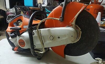 """Stihl TS420 14""""  Gas Powered  Commercial Pro Concrete Cut-Off Saw"""