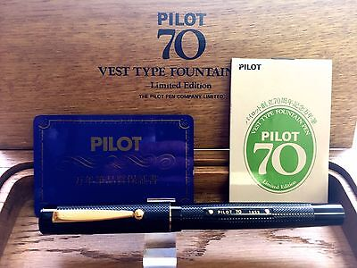 PILOT 70th Anniversary 14K-585 1988 with BOX very rare good condition from Japan
