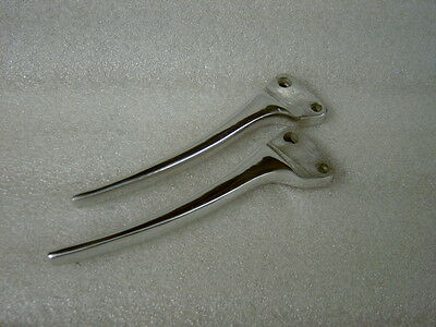 Lambretta Ld Brake And Clutch Levers In Polished Alloy