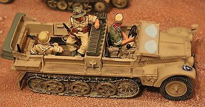 King And Country Ww11 Gemans Afrika Korps Ak20 Demag Toy Soldiers Britains
