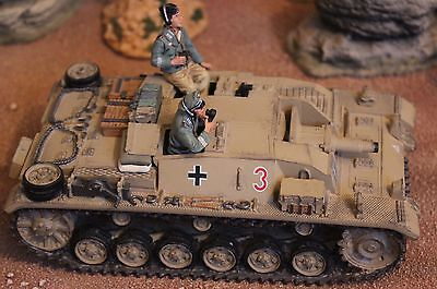 King And Country Ww11 Gemans Afrika Korps Ak38 Stug Tank Toy Soldiers Britains