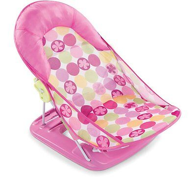 Baby Bath Seat - Summer Infant Deluxe, Pink
