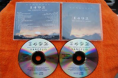 1942. THE COMPLETE SCORE. VANGELIS. ONLY 250 Copies!!!!!!!!!!!. 2 CD. VERY RARE.