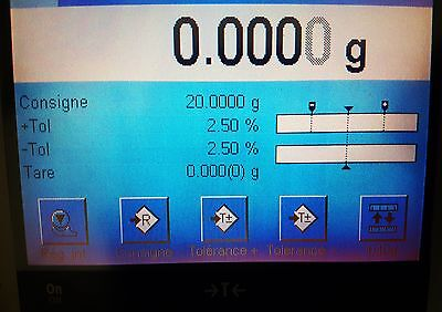 Mettler Toledo XP404S Analytical Balance d=0.1mg Max=410g  Barely used