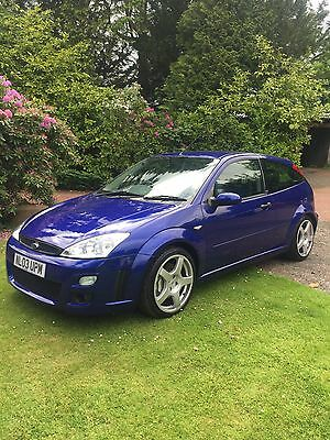 2003 FORD FOCUS 2.0 TURBO RS Mk1 COMPLETELY STANDARD