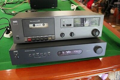Quality NAD Tape Deck 6220 RDS Stereo Tuner C 425 Remote