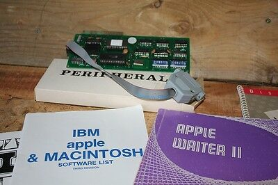 Vintage Apple IIE Computer Super Serial Card Peripheral