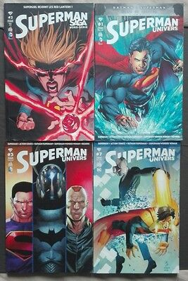 Lot Comics DC Superman Saga HS 2 Superman Univers 1 3 7 FR VF