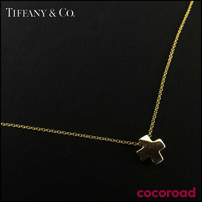 TIFFANY&Co. Necklace Cruciform Cross Necklace K18 Yellow Gold from Japan