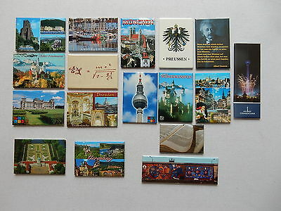 One Selected Souvenir Fridge Magnet from Germany