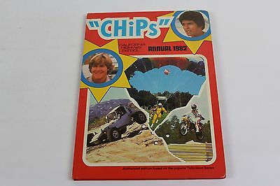 CHIPS California Highway Patrol Annual 1982 TV Vintage Hardback Unclipped C6