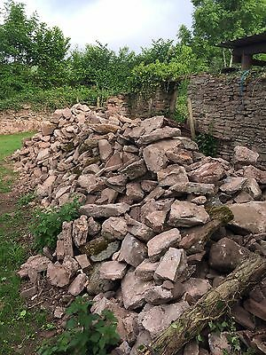 red sandstone building stone herefordshire reclaimed reclamation walling stone
