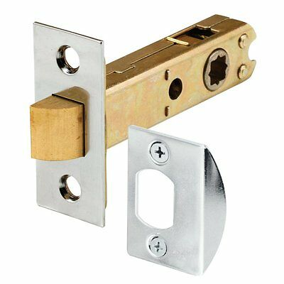 Prime-Line Products E 2440 Passage Door Latch, 9/32 in. & 5/16 in. Square Drive,