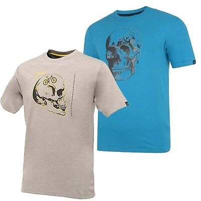 Dare 2b Skull Cycle Mens High Wicking Quick Dry Anti Bact Printed T-Shirt