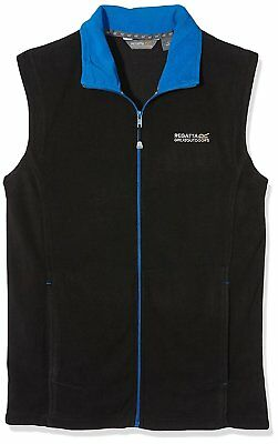 Regatta Tobias II Mens Lightweight Full Zip Bodywarmer Gilet Jacket Black Size S