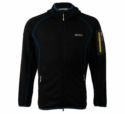 Regatta Coldwell Mens Knit Effect Active Fit Hoody Hoodie Hooded Top
