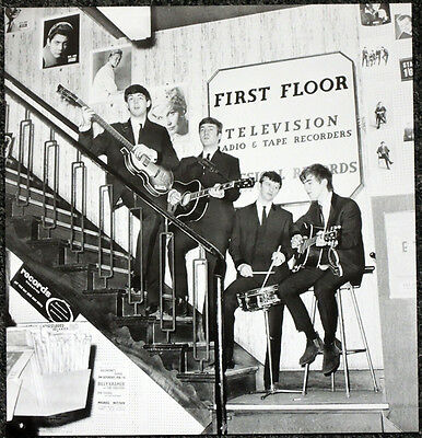 The Beatles Poster Page 1963 In Rushworths, Liverpool Music Shop? . J7