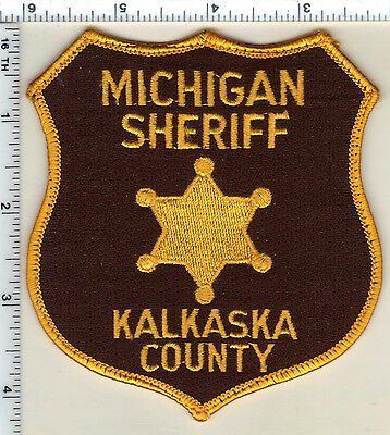 Kalkaska County Sheriff's Dept. (Michigan)  Shoulder Patch  from 1992