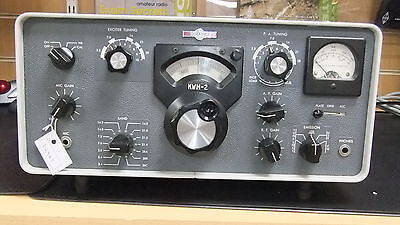 Used Classic Collins Kwm-2 Hf Transmitter.