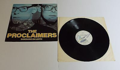 "The Proclaimers Sunshine On Leith 12"" Single - EX"