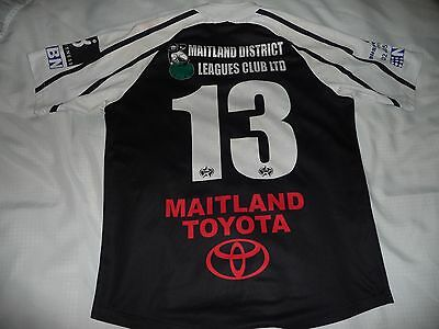 Match Worn Rugby League Jersey Maitland Pickers CRL Country Rugby League