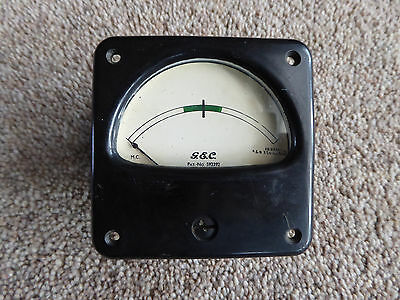 Vintage GEC PANEL METER Signal / Amps / Volts   Made in England