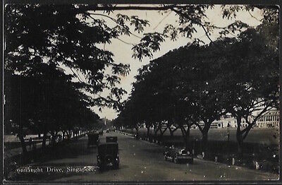 SINGAPORE - Connaught Drive. Real photo.