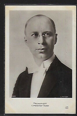 Russia - Sergei Prokofiev, Russian composer, pianist and conductor.