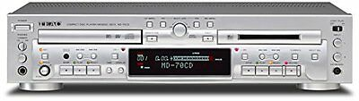 TEAC CD player / MD recorder Silver MD-70CD-S
