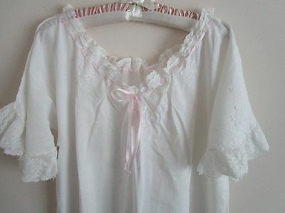 Vintage 1930 Long Nightgown Small #2