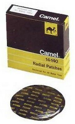 "Camel 14-140 Radial Tire Patches Large Round  4-1/8"" (10 per Box)"
