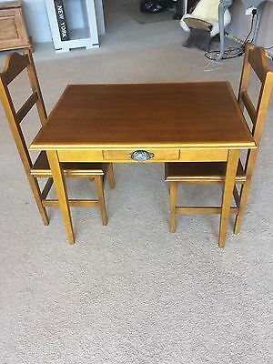 Child's Table And Chairs